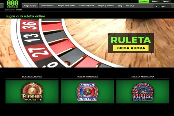 888 casino juegos ruleta