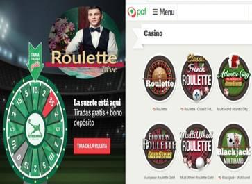En casino Paf los jugadores reciben un bono de retorno de 20 euros