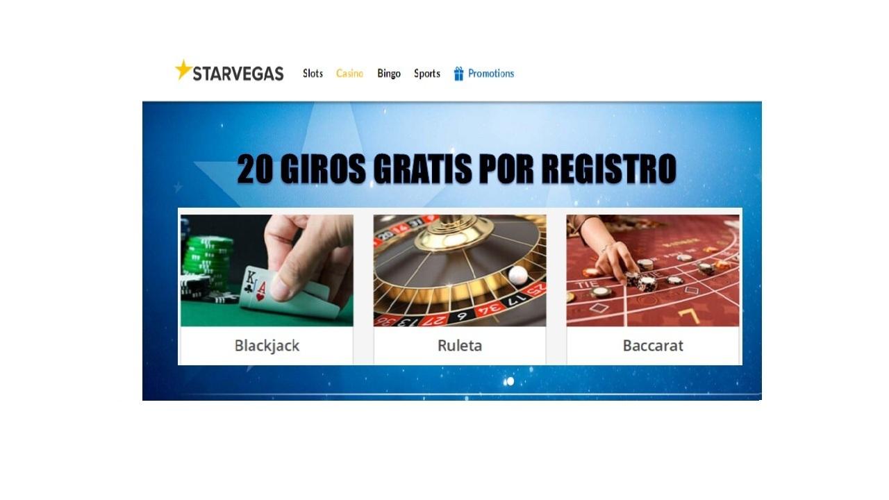 Casino Starvegas giros gratis